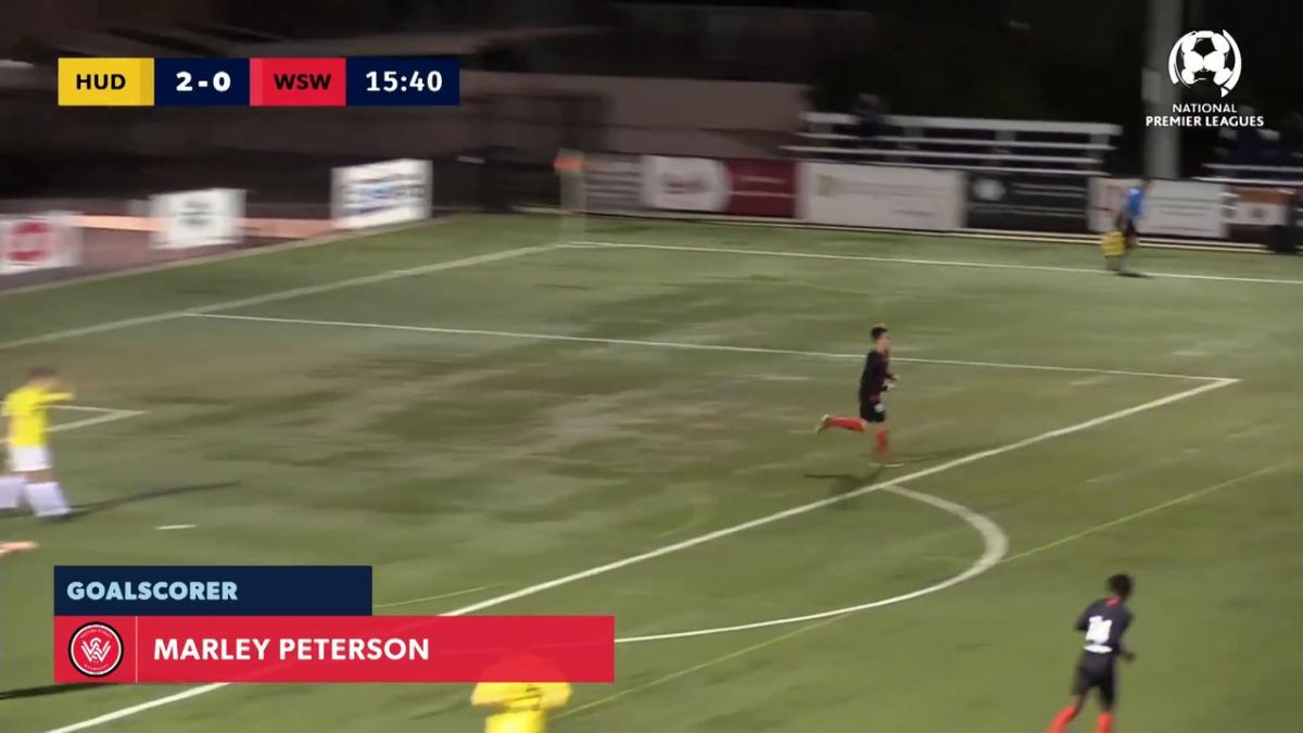 NPL 2 NSW Round 19 - Hills United vs Western Sydney Wanderers Youth Highlights