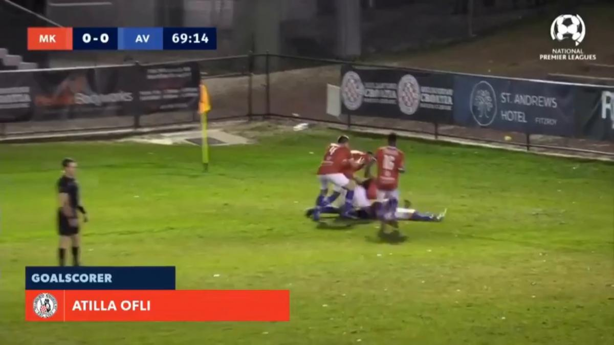 NPL VIC Round 20 - Melbourne Knights vs Avondale FC Highlights