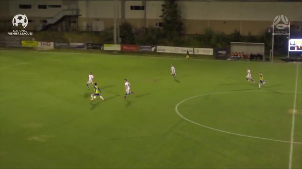 NPL QLD Round 27 - Gold Coast Knights vs Brisbane Strikers Highlights