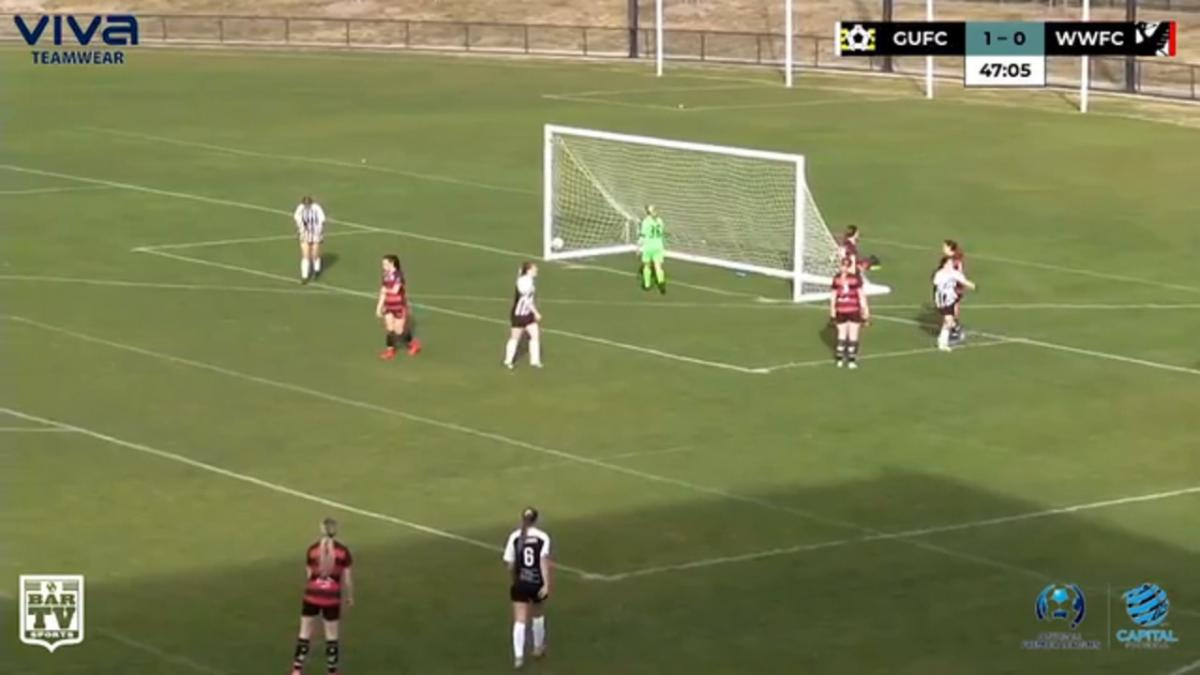 NPLW CF Round 13 - Gungahlin United vs Woden-Weston FC Highlights