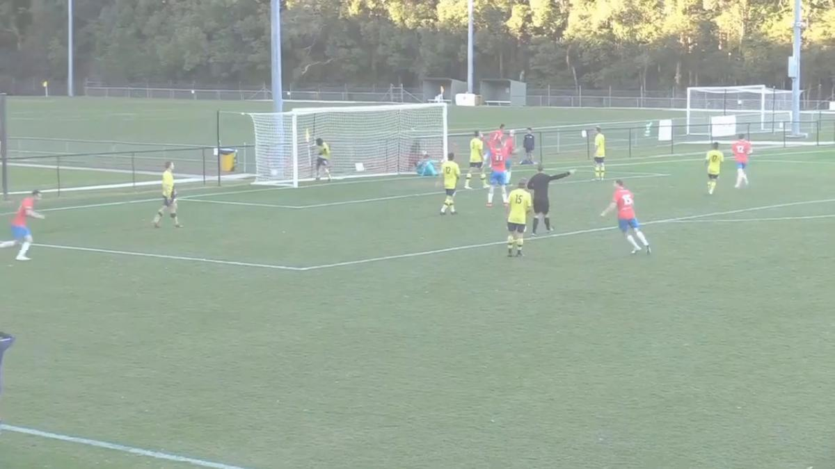 NPL 2 NSW Round 20 - Central Coast Mariners Academy vs Bonnyrigg White Eagles Highlights