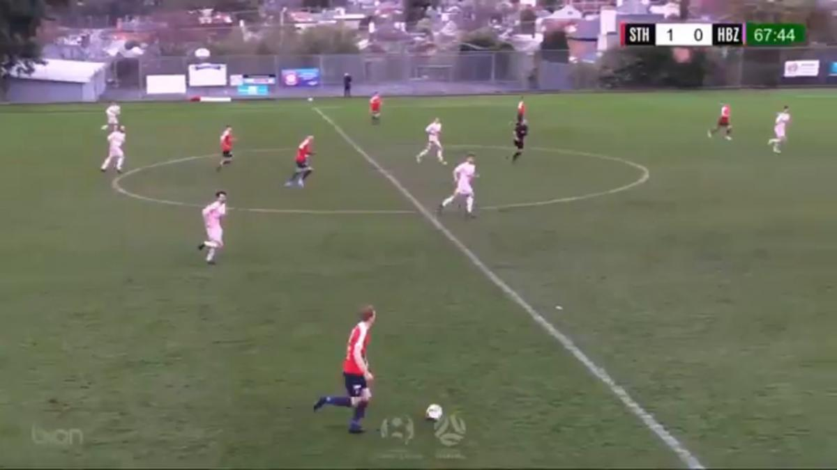 NPL TAS Round 19 - South Hobart FC vs Hobart Zebras Highlights
