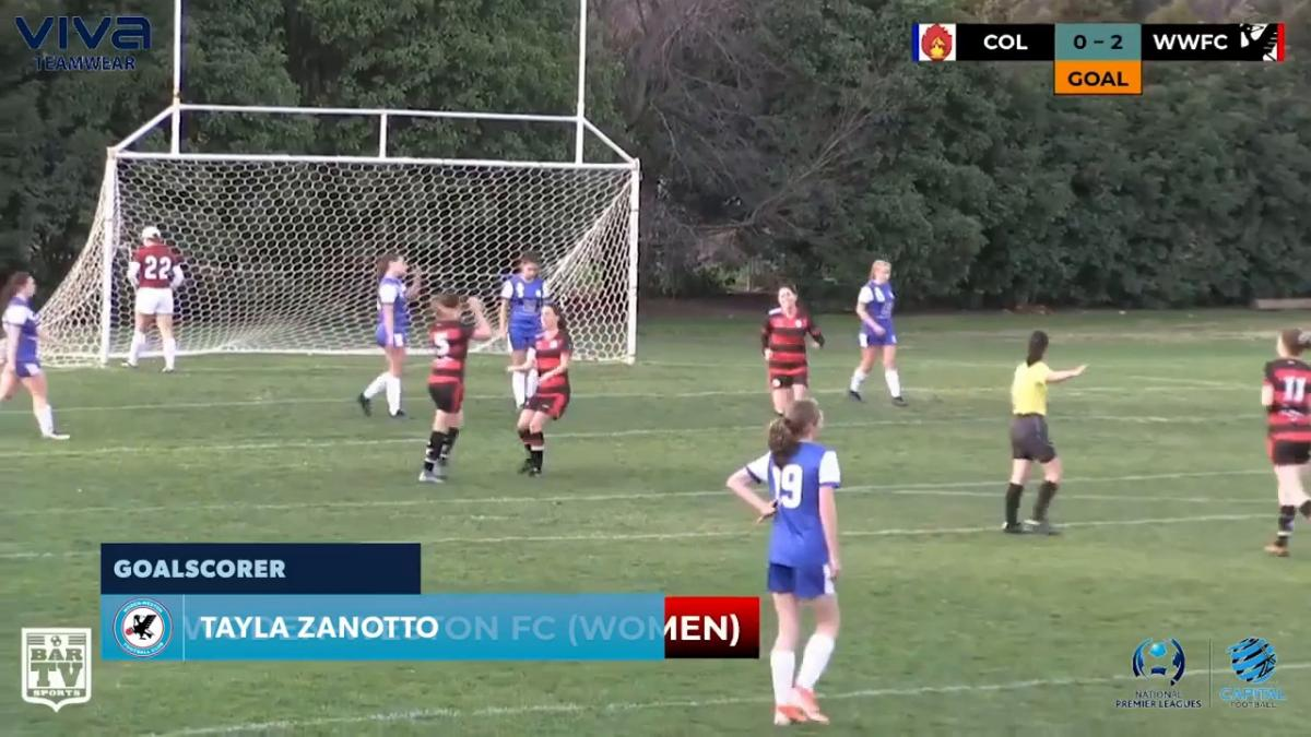 NPLW CF Round 16 - Canberra Olympic vs Woden-Weston FC Highlights