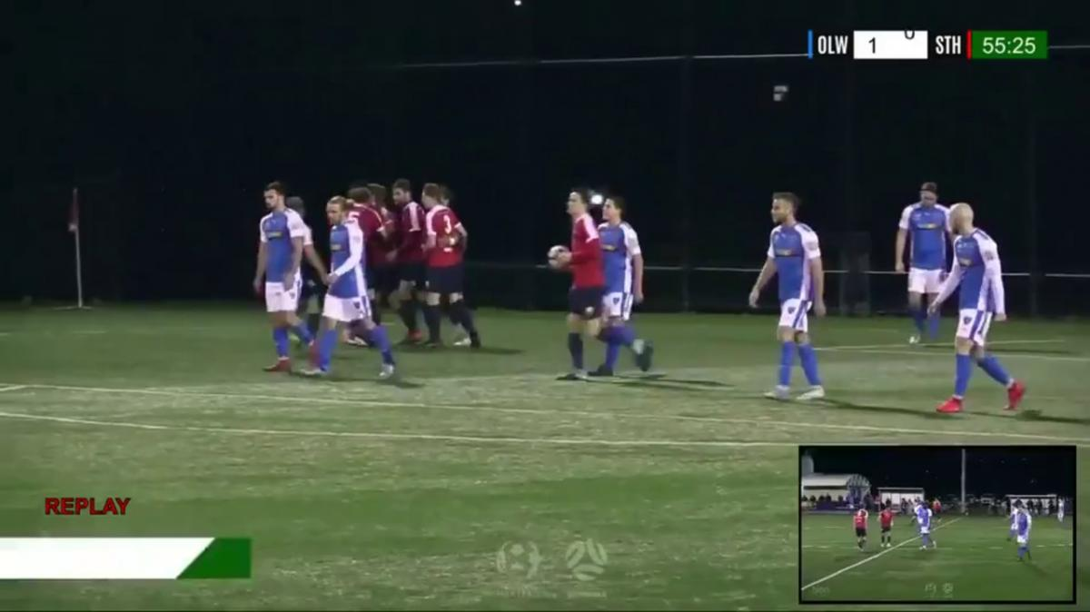NPL TAS Round 20 - Olympia Warriors vs South Hobart FC Highlights