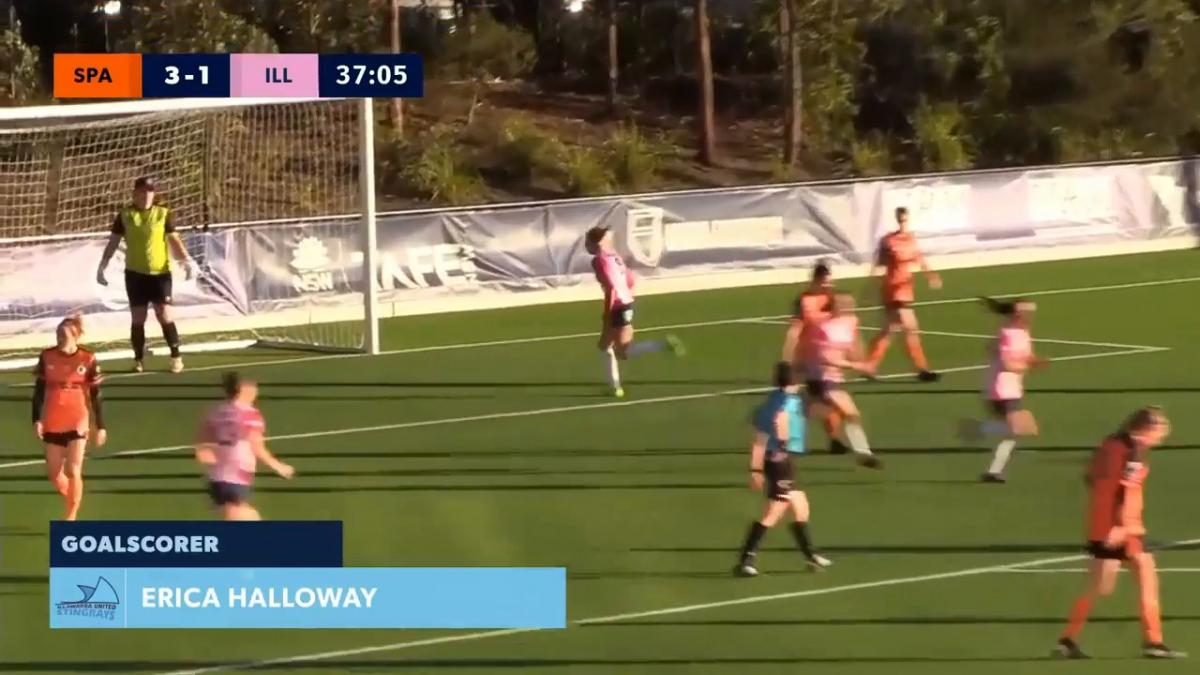 NPL NSW Women Elimination Final - Illawarra Stingrays vs Blacktown Spartans Highlights