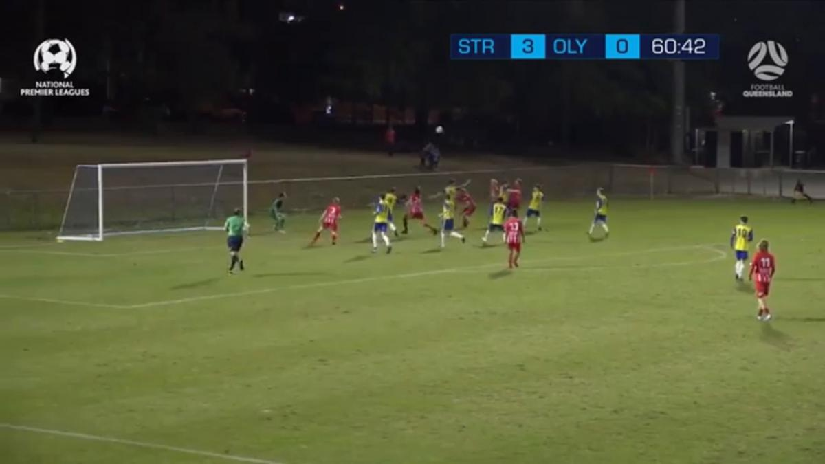 NPL QLD Round 28 – Brisbane Strikers vs Olympic FC Highlights