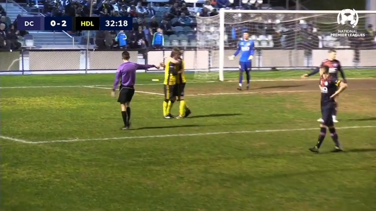 NPL VIC Round 23 - Dandenong City vs Heidelberg United Highlights