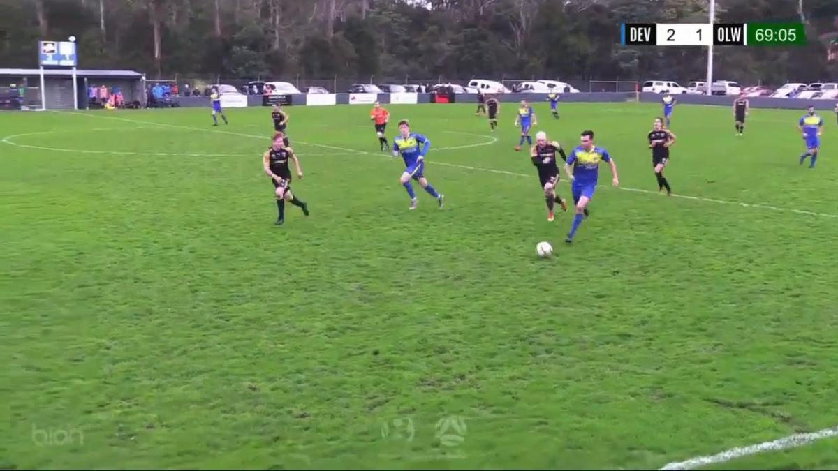NPL TAS Round 21 - Devonport City Strikers vs Olympia Warriors Highlights