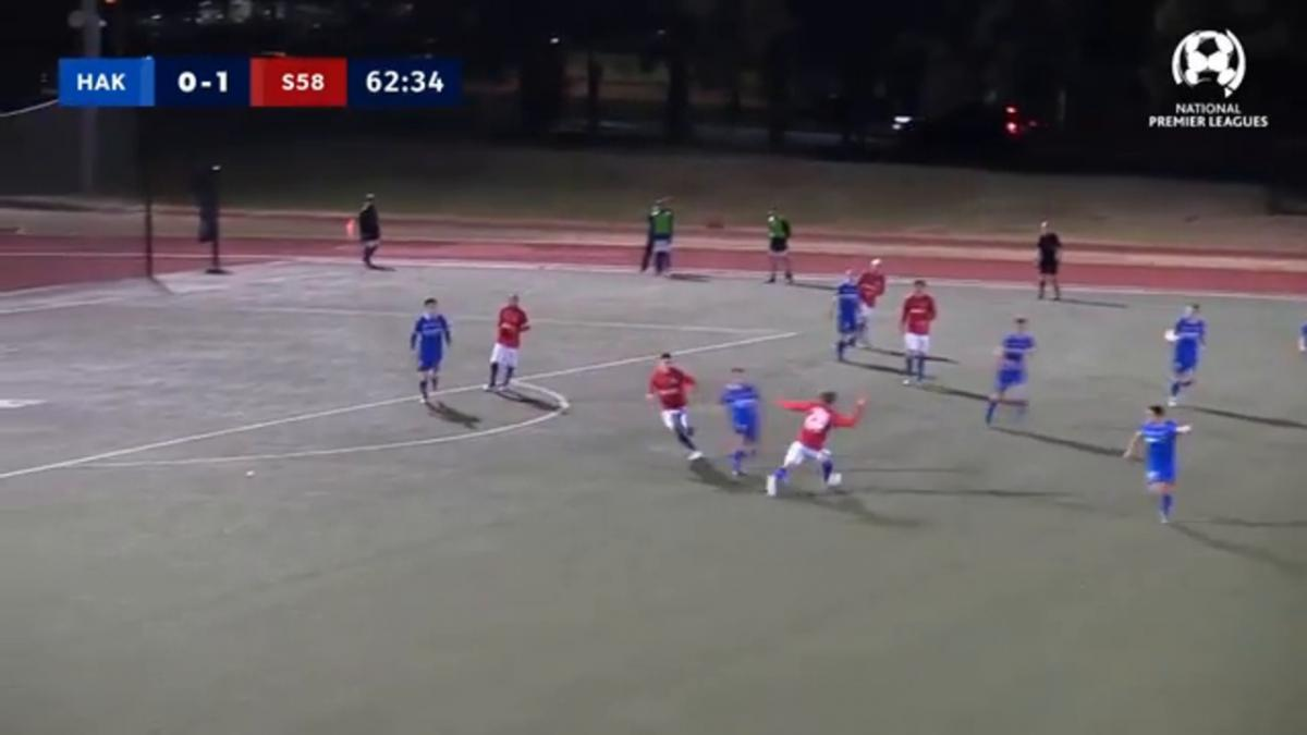 NPL NSW Round 20 - Hakoah Sydney City East vs Sydney United Highlights