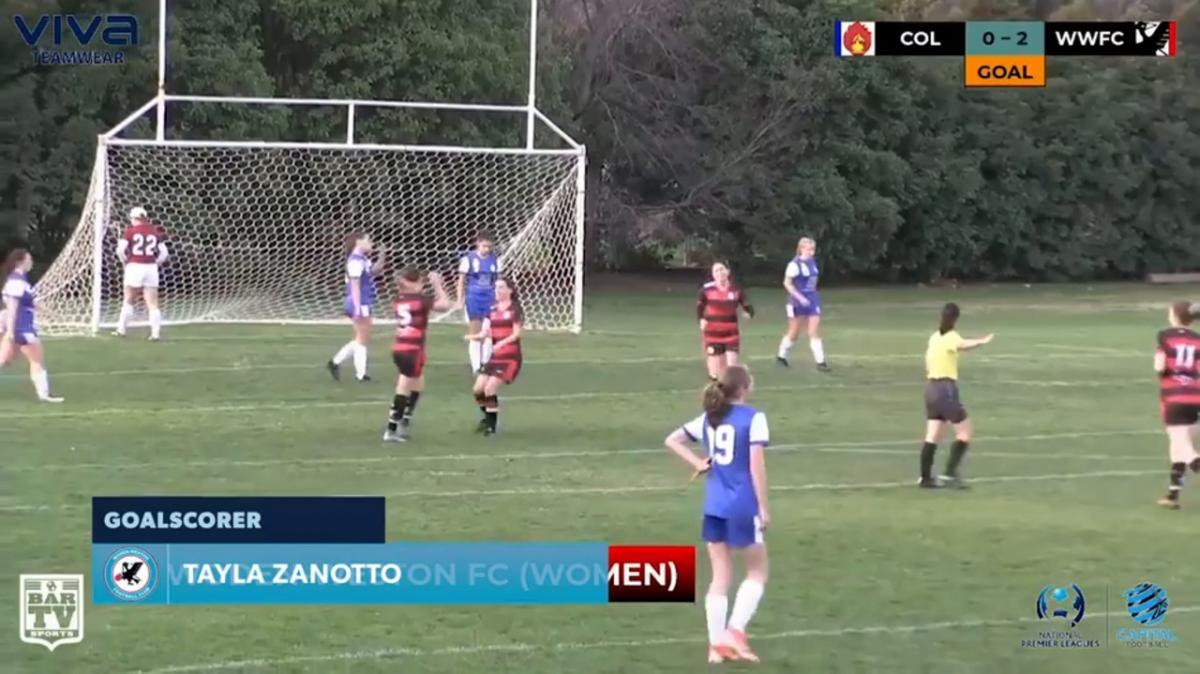 NPLW CF - Canberra Olympic vs Woden-Weston FC Highlights