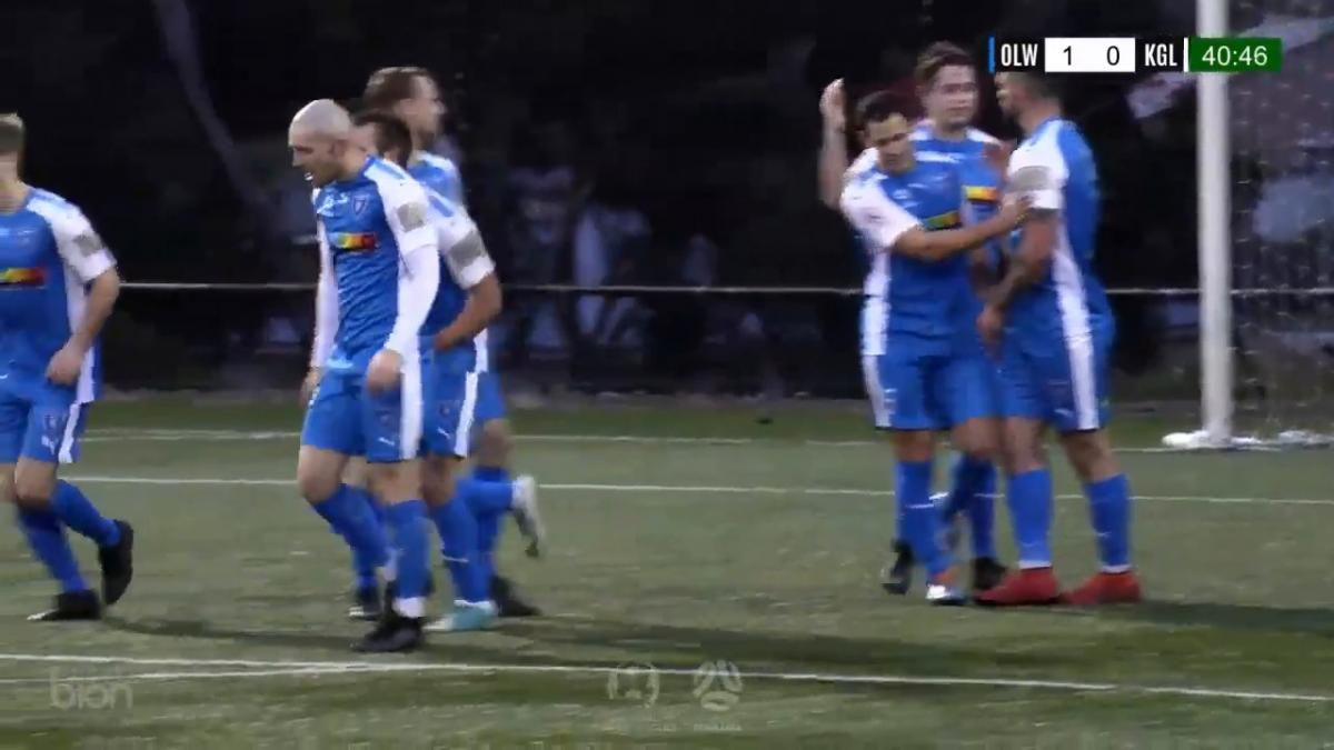 NPL TAS Round 25 - Olympia Warriors  vs Kingborough Lions United Highlights