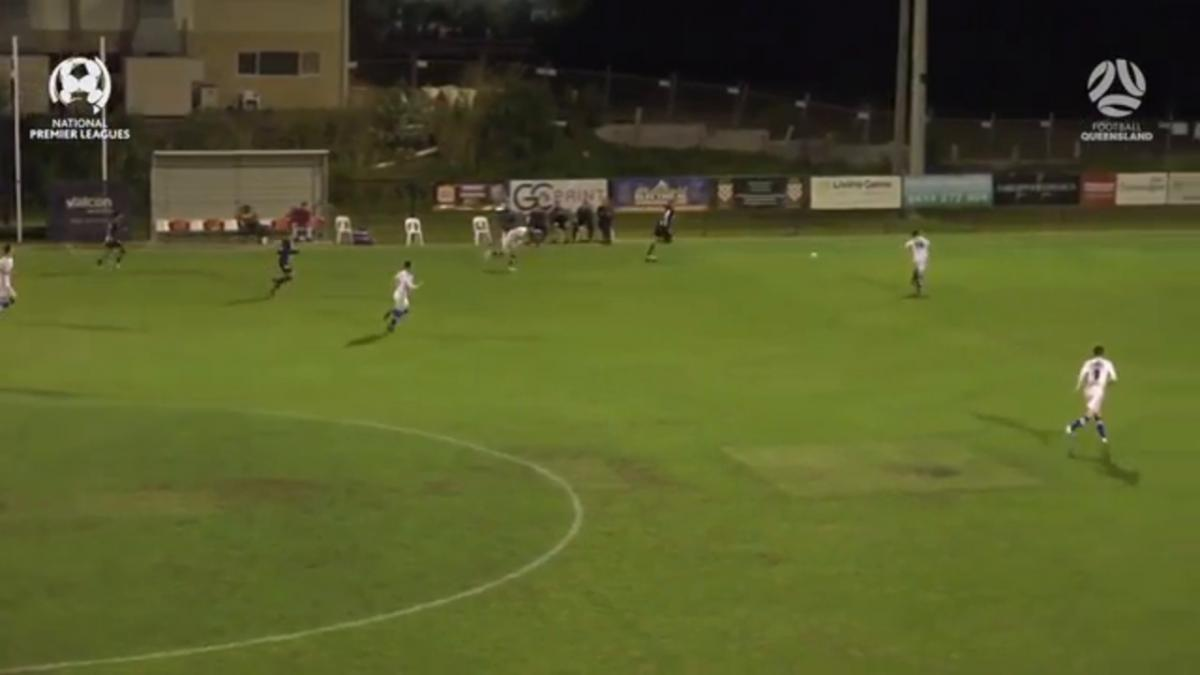 NPL QLD  Round 30 - Gold Coast Knights vs Olympic FC Highlights
