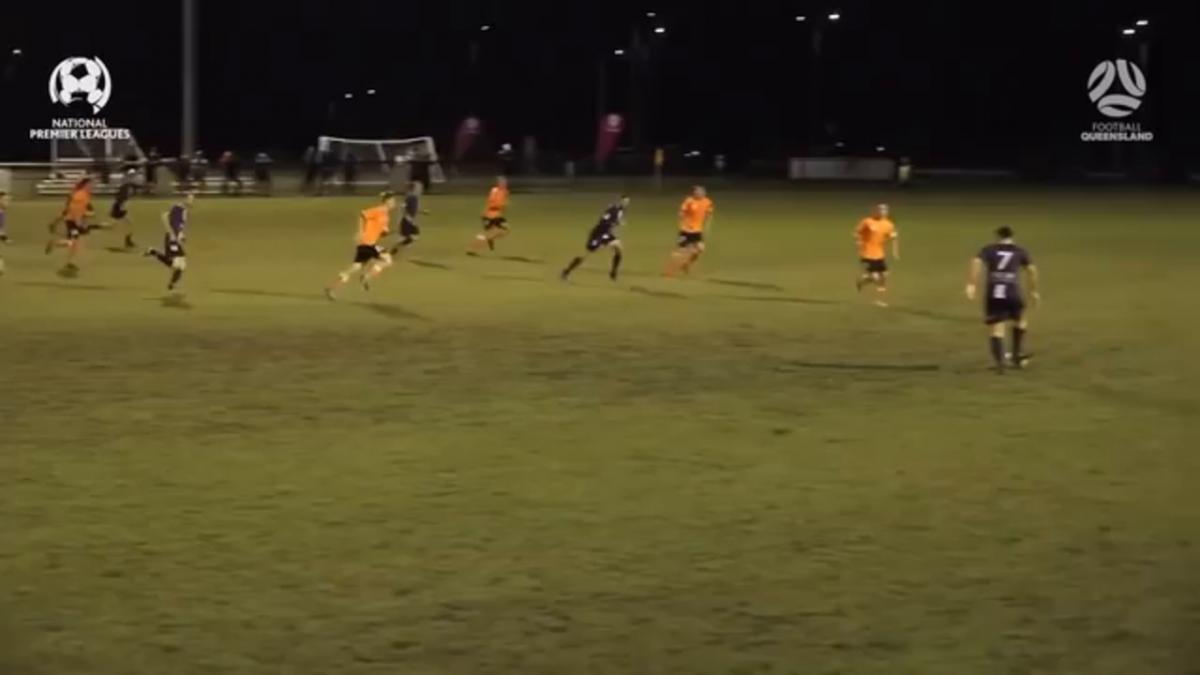 NPL QLD Round 14 - Brisbane Roar vs Olympic FC Highlights