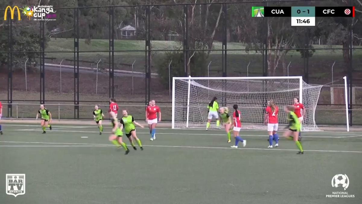 NPLW CF Round 5 - Canberra United Academy vs Canberra FC Highlights