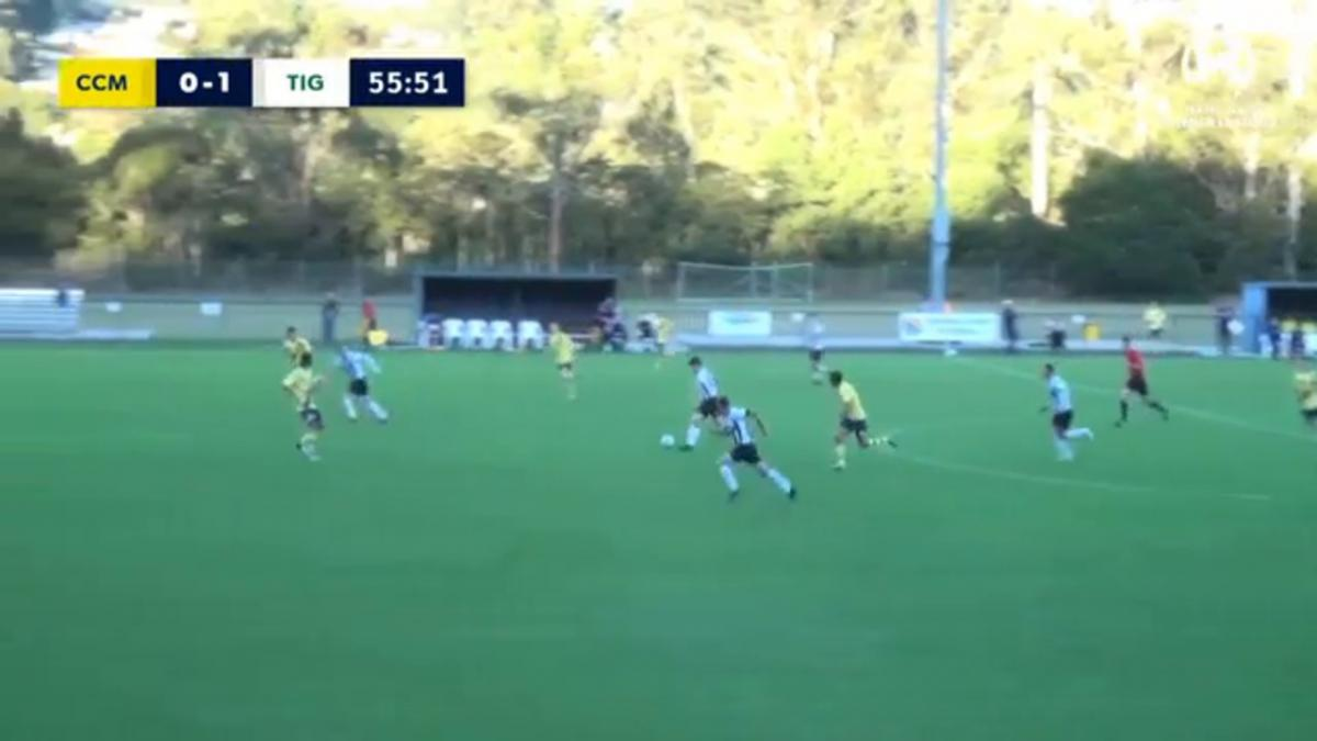 NPL 2 NSW Round 13 - Central Coast Mariners Academy v Northern Tigers Highlights