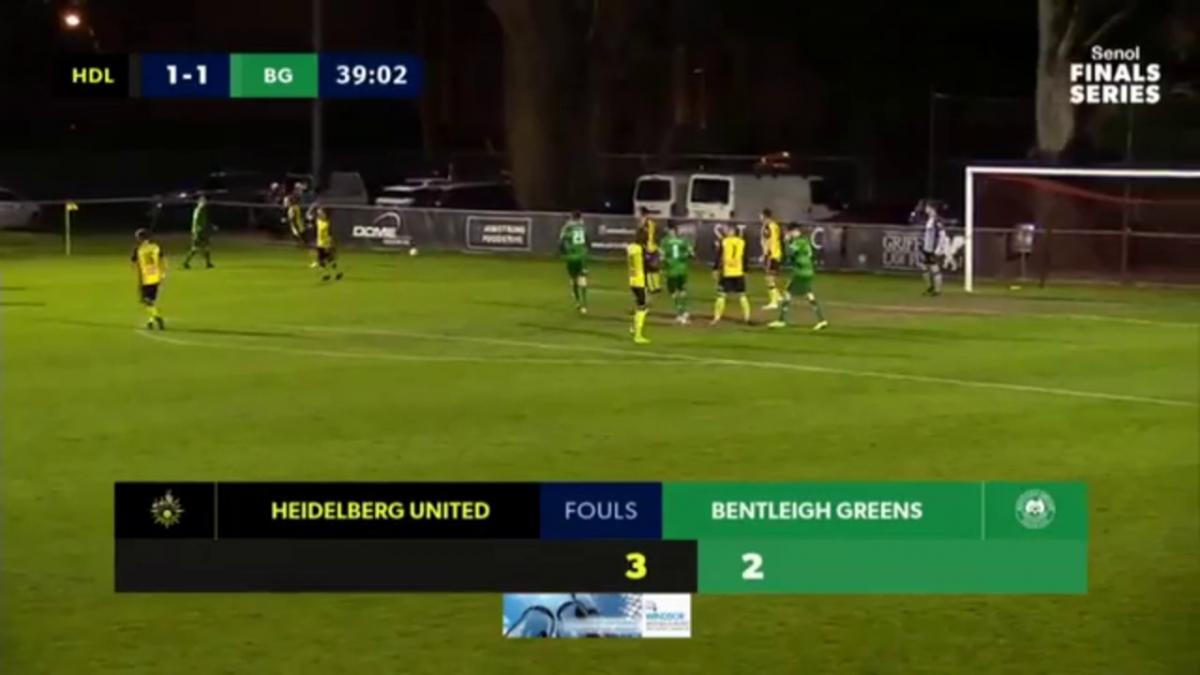 NPL VIC Semi Final -  Heidelberg United vs Bentleigh Greens Highlights