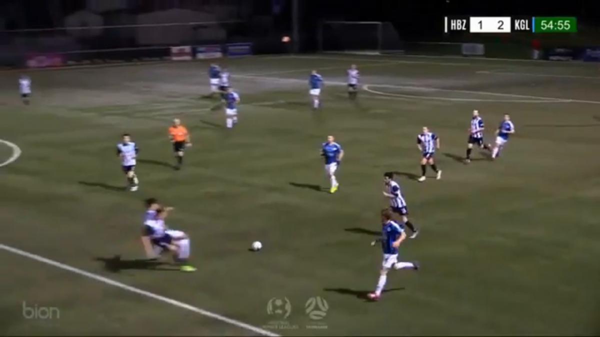 NPL TAS Round 15 - Hobart Zebras vs Kingborough Lions Highlights