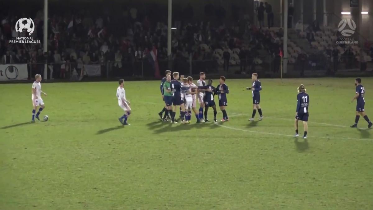 NPL QLD Grand Final - Gold Coast Knights vs Olympic FC Highlights