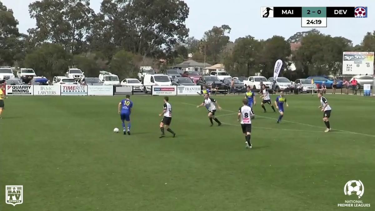 Maitland FC v Devonport Strikers NPL Elimination Final 2019 Match Highlights