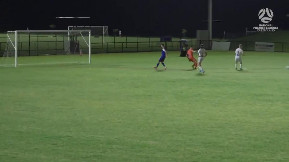 NPL QLD Round 1 - Peninsula Power vs Magpies Crusaders United Highlights