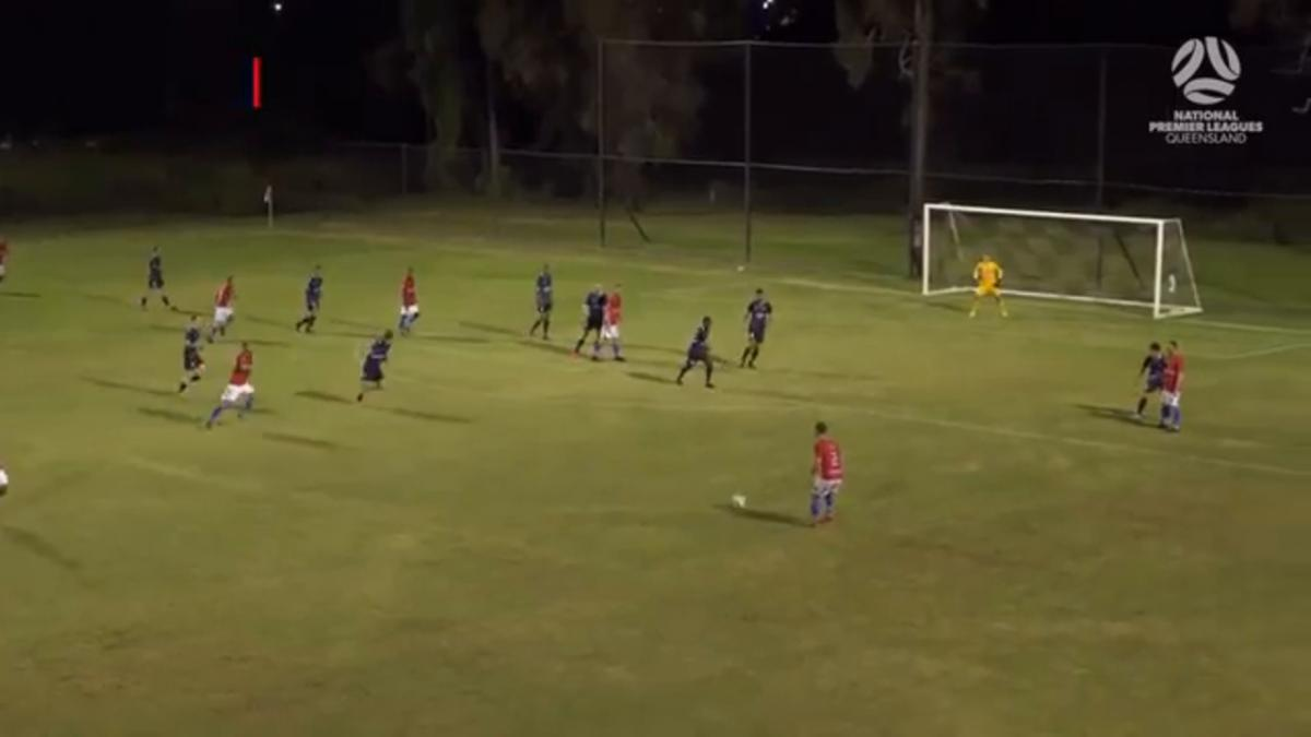 NPL QLD Round 3 - Gold Coast Knights vs Olympic FC Highlights