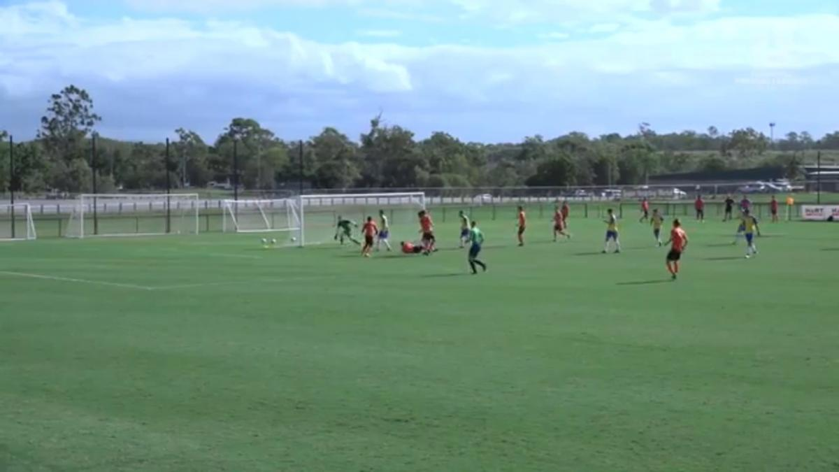 NPL QLD Round 5 - Brisbane Roar Youth vs Brisbane Strikers Highlights