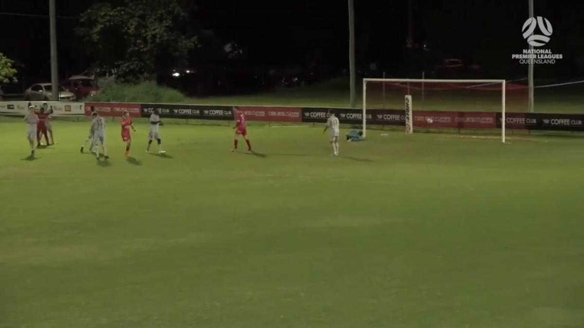 NPL QLD Round 6 - Olympic FC vs Brisbane Roar Youth Highlights