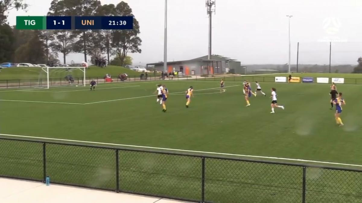 NPLW NSW Round 2 - Northern Tigers vs Sydney University Highlights