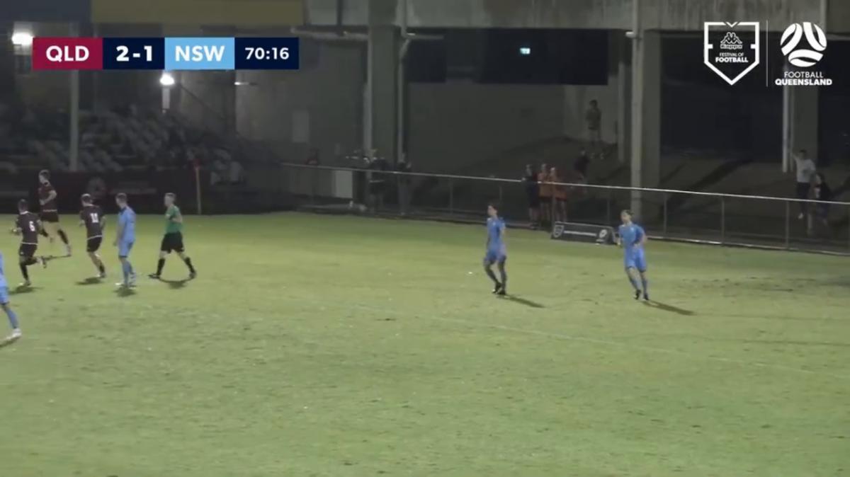 Kappa Festival of Football Men's - Queensland v New South Wales Highlights