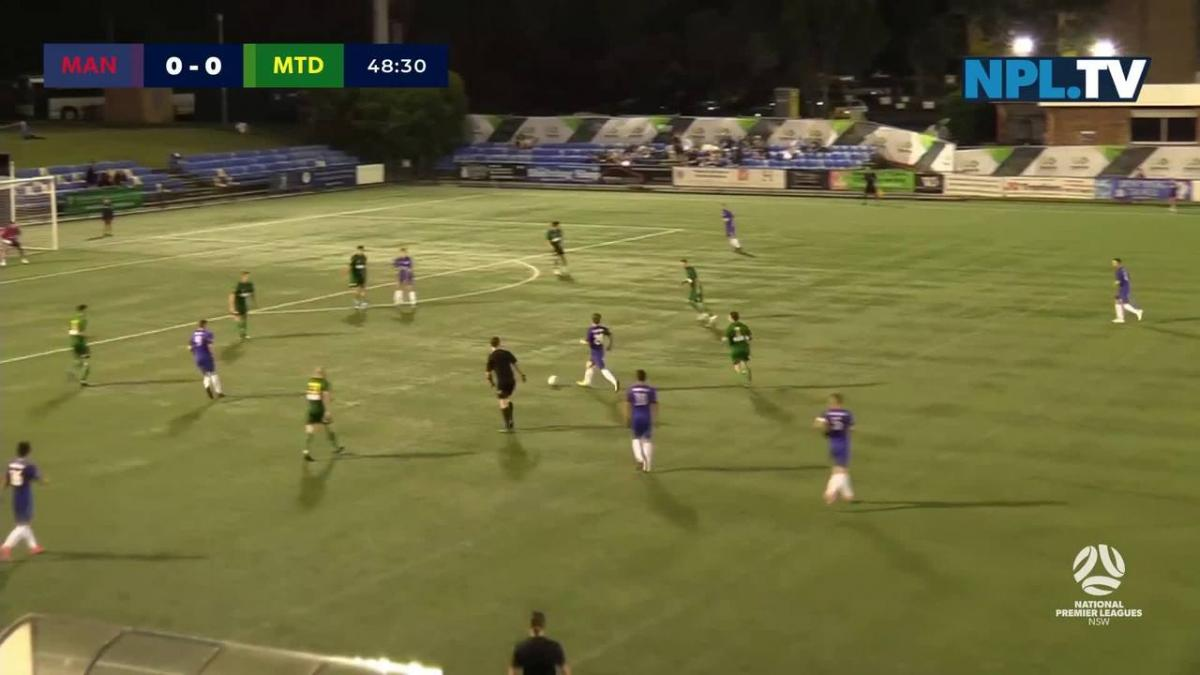 NPL NSW Round 1 – Manly United v Mt Druitt Town Rangers Highlights