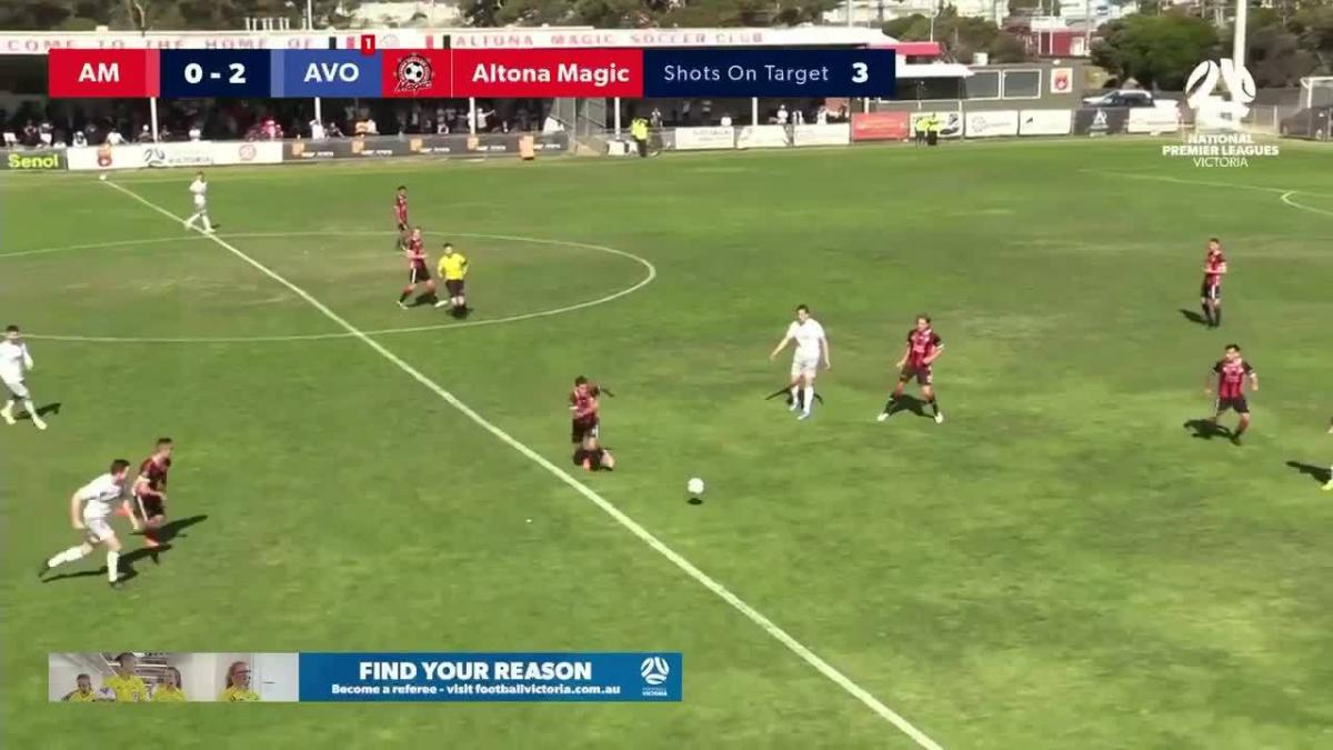 NPl Victoria Round 2 - Altona Magic v Avondale FC Highlights