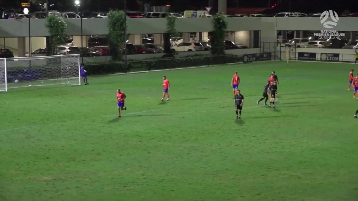 NPL Queensland Round 1 - Lions FC v Gold Coast Knights Highlights