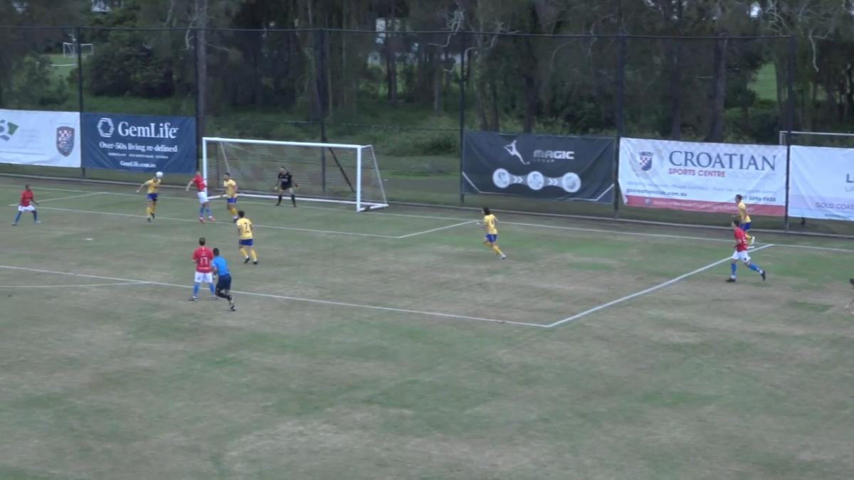 NPL Queensland Round 4 - Gold Coast Knights v Capalaba FC Highlights