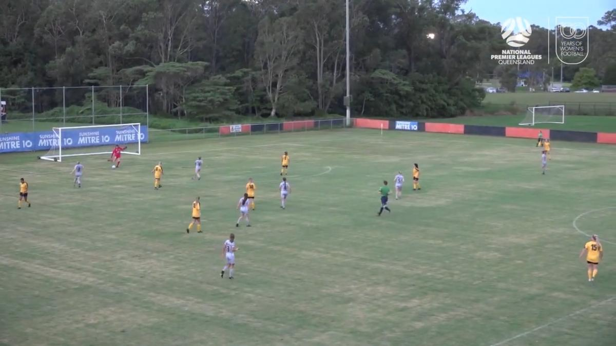 NPLW Queensland Round 3 - Sunshine Coast Wanderers v Virginia United Highlights