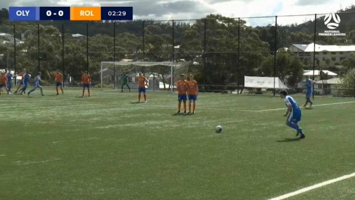 NPL Tasmania Round 2 – Olympia FC Warriors v Riverside Olympic FC Highlights