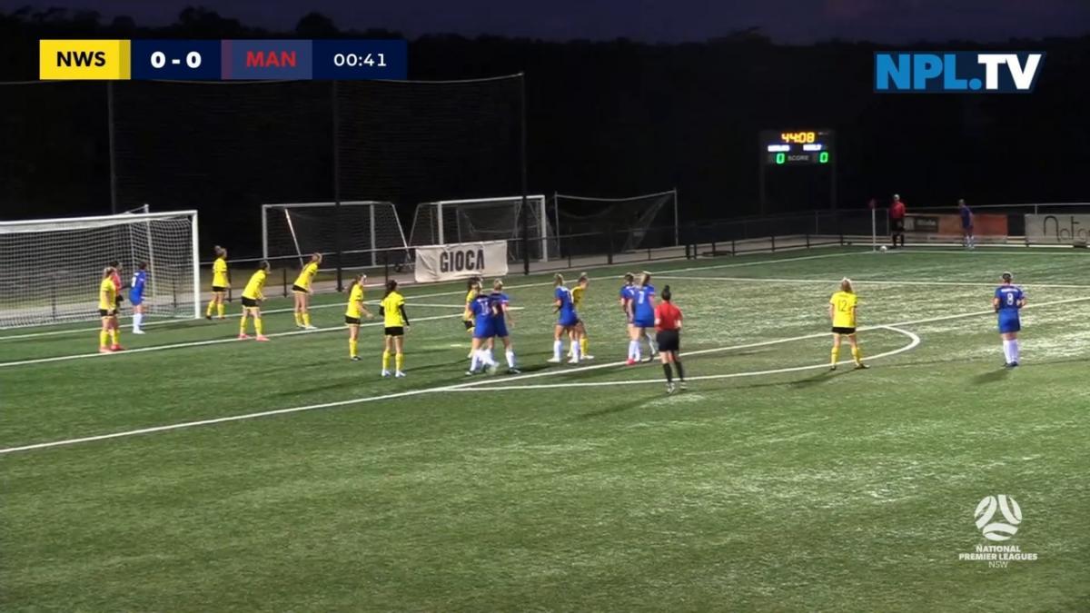 NPLW NSW Round 2 - North West Sydney Koalas FC v Manly United Highlights