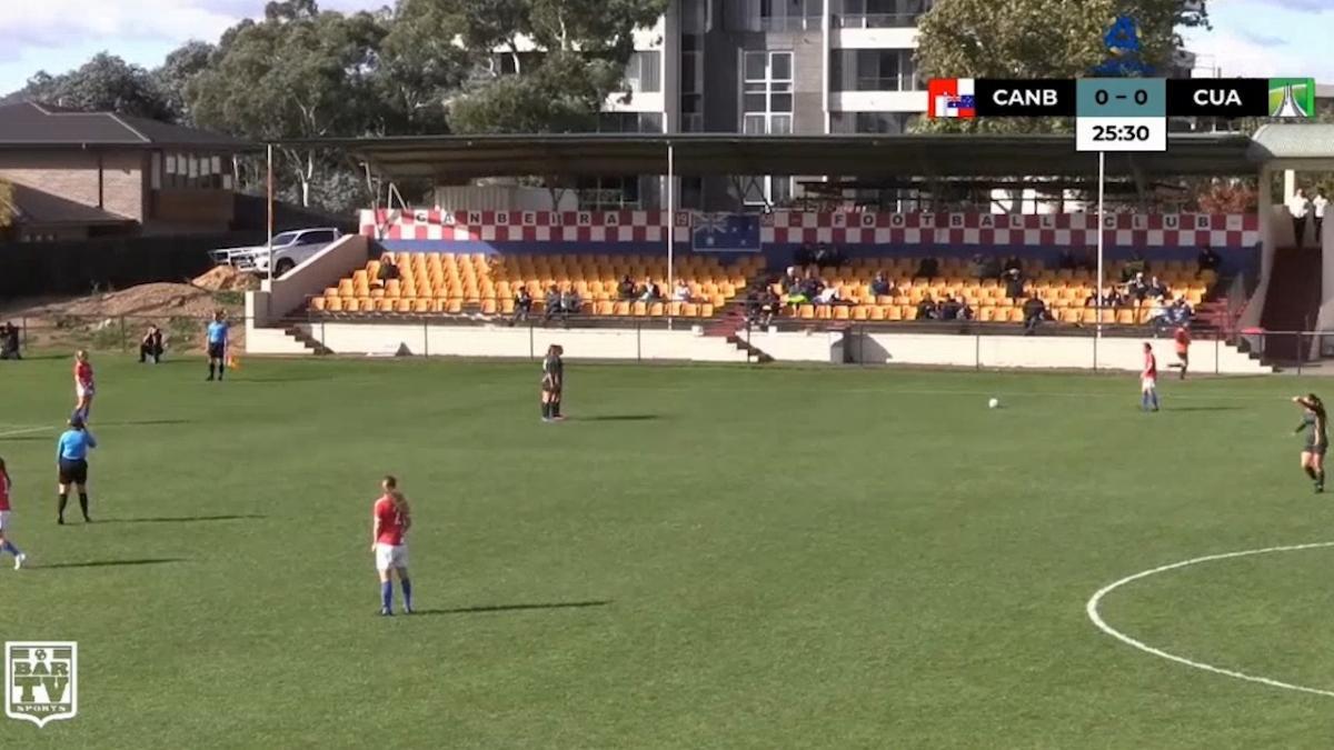 NPLW Canberra Round 1 - Canberra Croatia FC v Canberra United Academy Highlights
