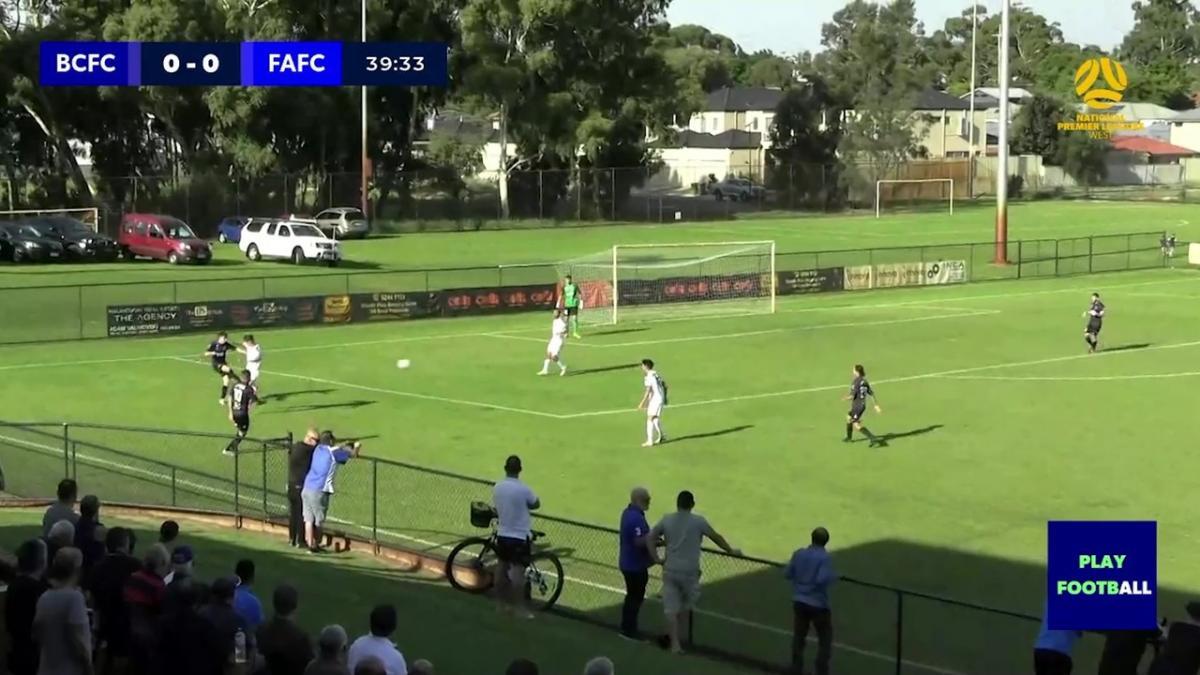 NPL Western Australia Round 5 - Bayswater City Soccer Club v Floreat Athena Football Club Highlights