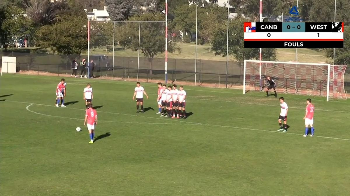 NPL Capital Round 3 - Canberra Croatia FC v West Canberra Wanderers FC Highlights