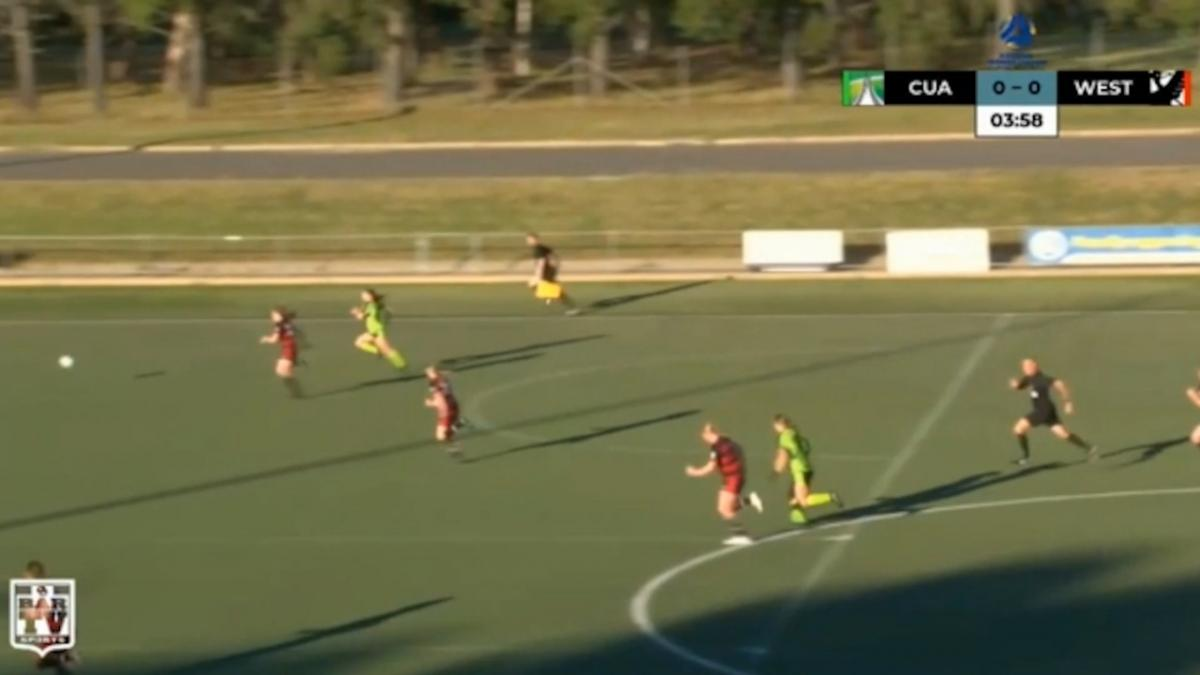 NPLW Capital Round 3 - Canberra United Academy v West Canberra Warriors Highlights