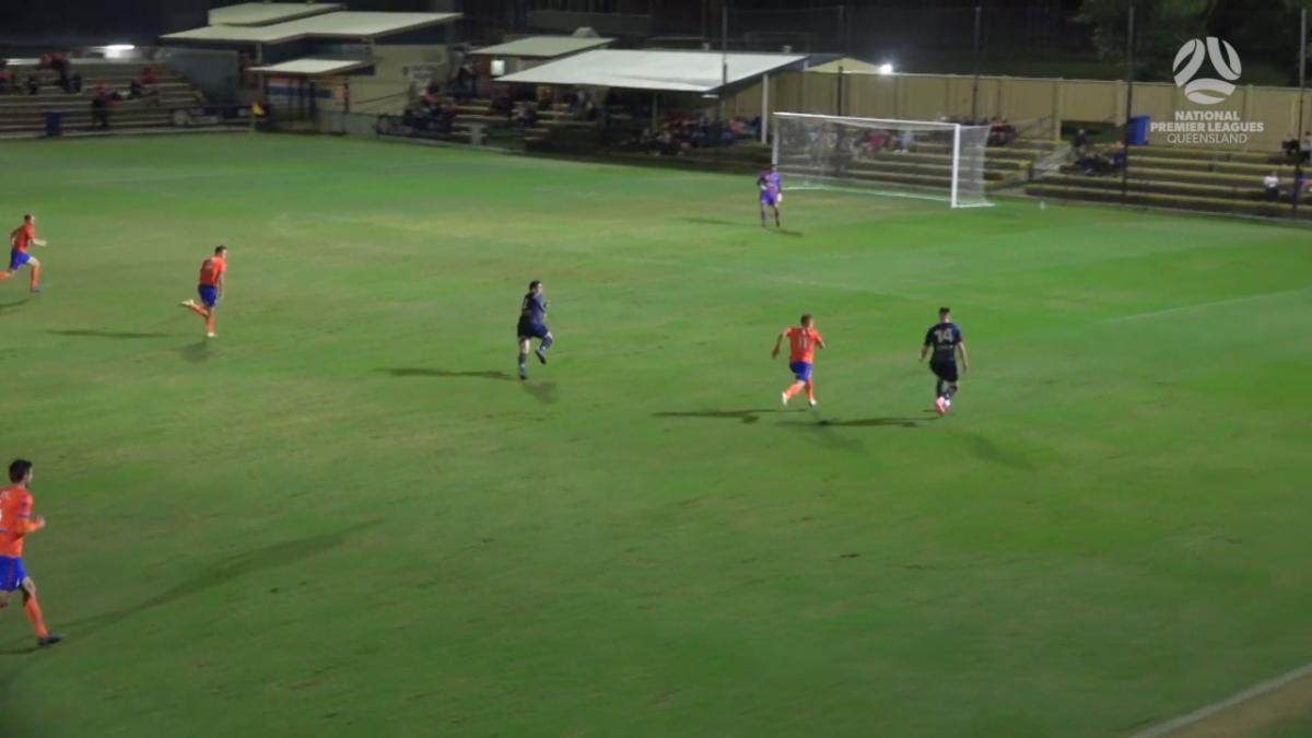 NPL Queensland Round 7 - Lions FC v Olympic Football Club Highlights