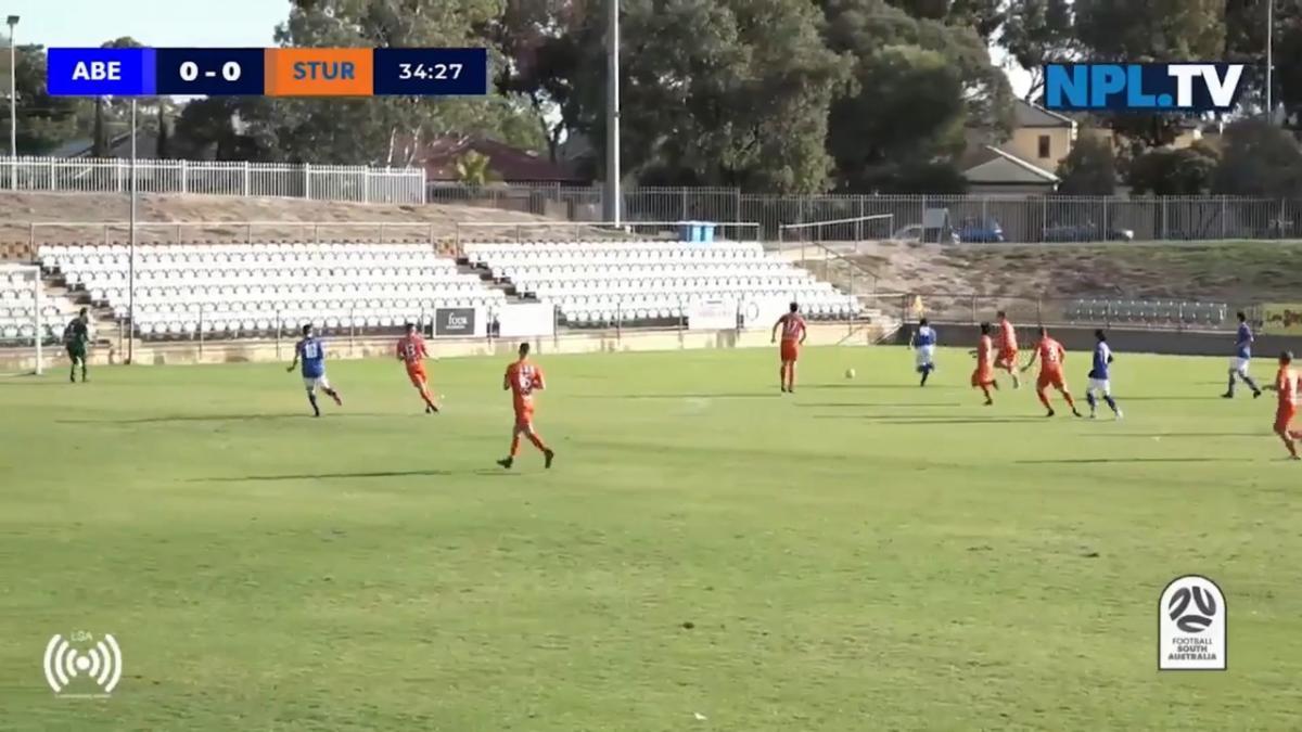 NPL South Australia Round 3 - Adelaide Blue Eagles v Sturt Lions Highlights