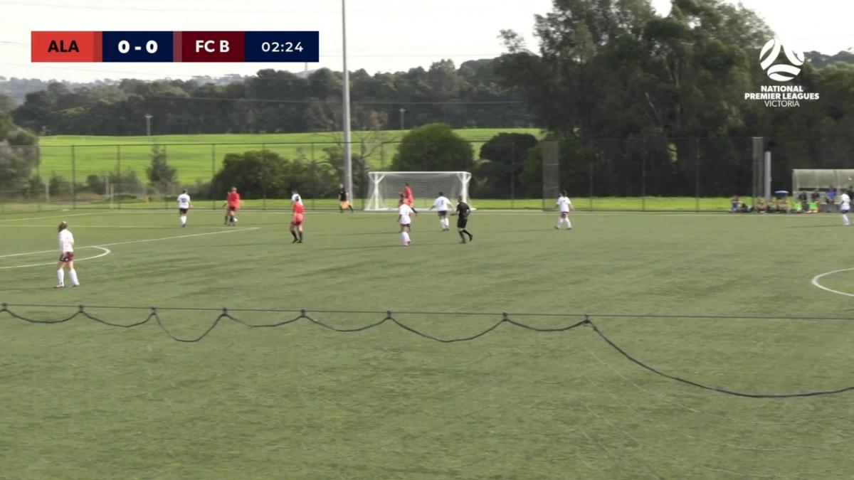NPLW Victoria Round 4 - Alamein FC v FC Bulleen Lions Highlights