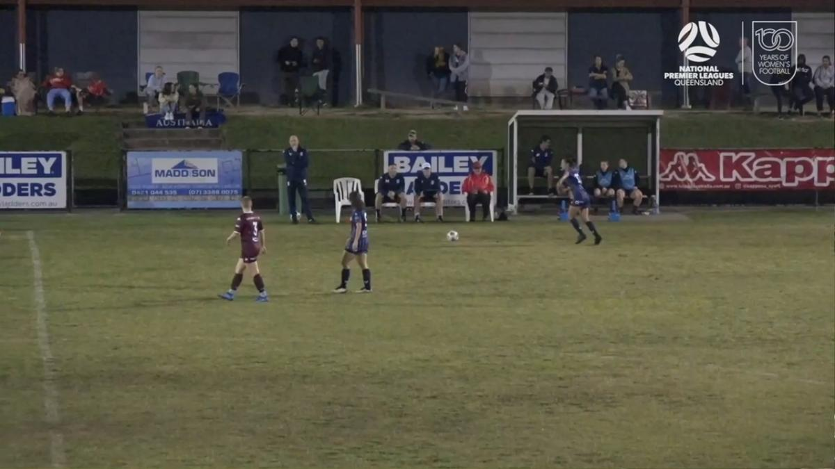 NPLW Queensland Round 8 - Logan Lightning v Olympic FC Highlights