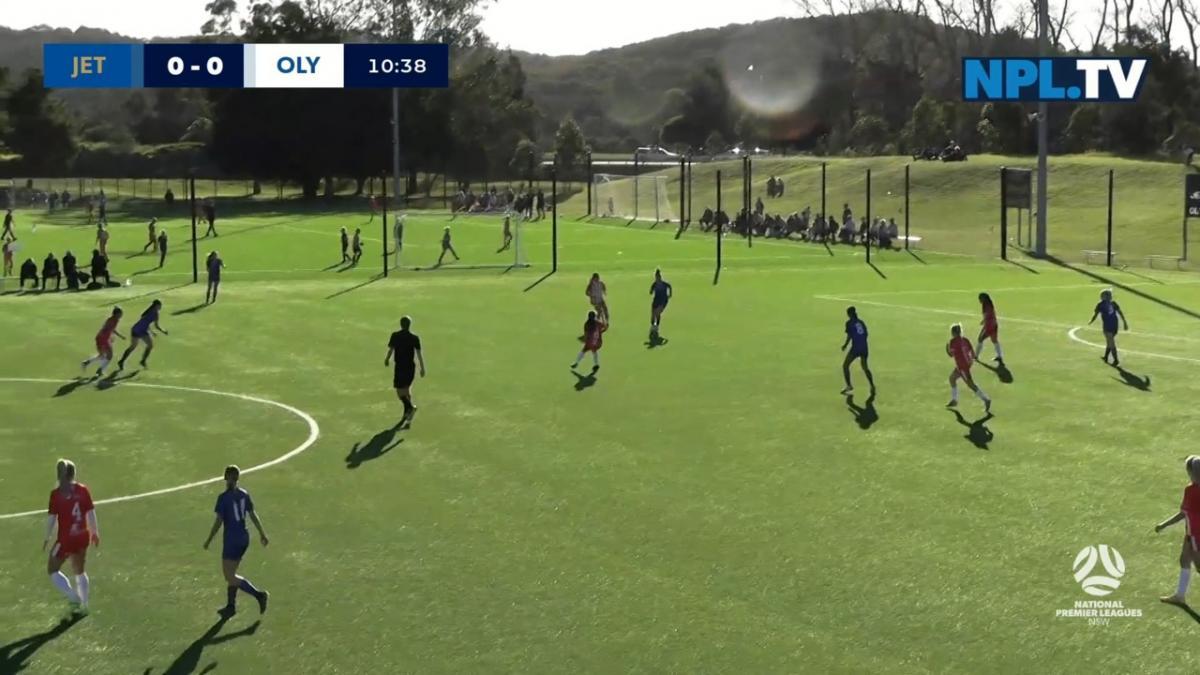 NPLW NSW Round 7 - Emerging Jets v Sydney Olympic FC Highlights