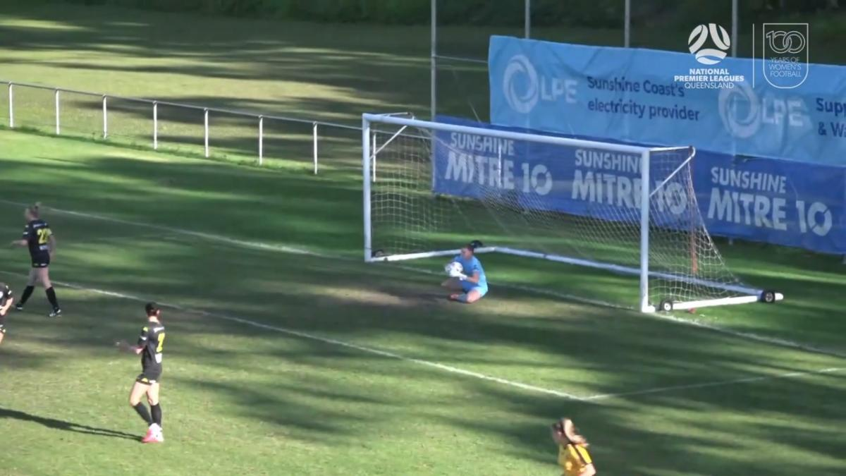 NPLW Queensland Round 10 - Sunshine Coast Wanderers FC v Logan Lightning FC Highlights