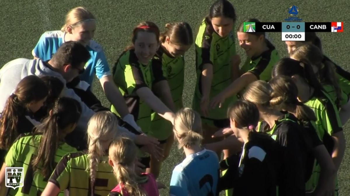 NPLW Capital Round 8 - Canberra United Academy v Canberra Croatia FC Highlights