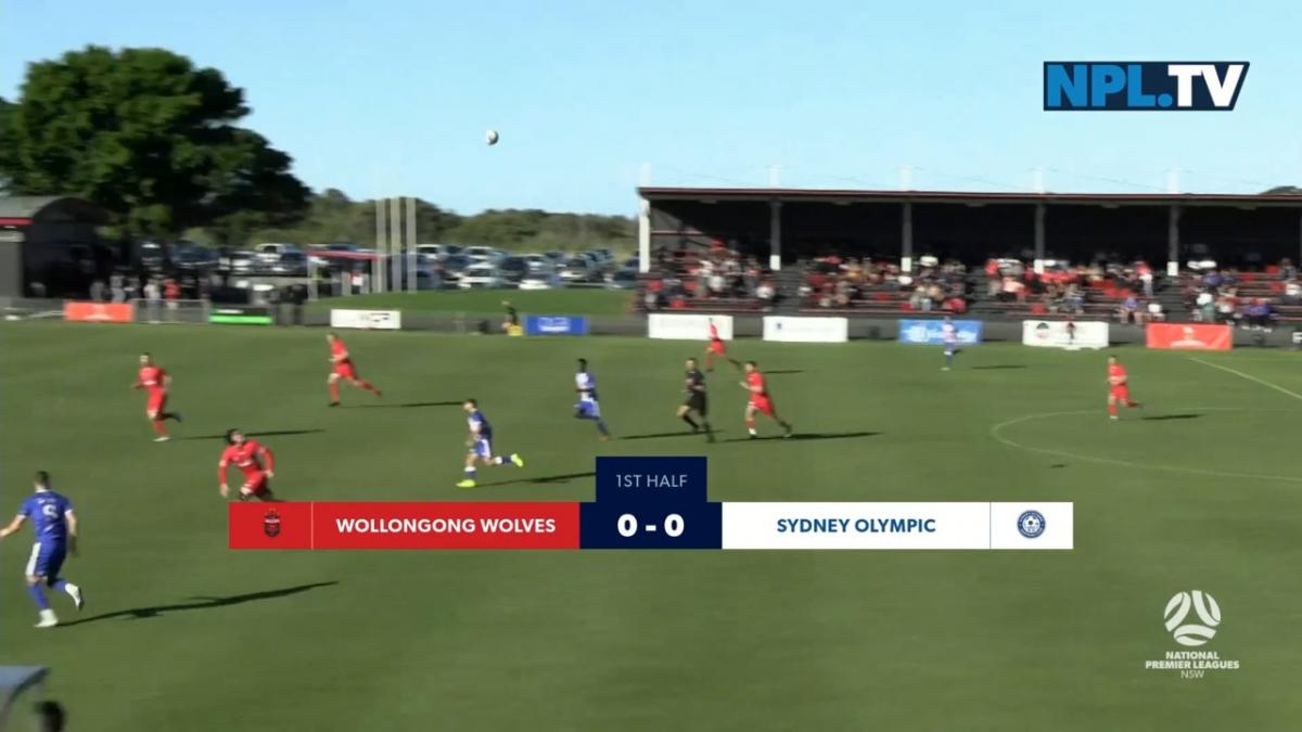 NPL NSW Round 15 - Wollongong Wolves FC v Sydney Olympic FC Highlights