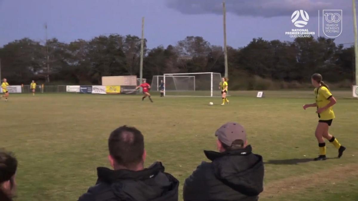 NPLW Queensland Round 12 - Virginia United v Moreton Bay United Highlights