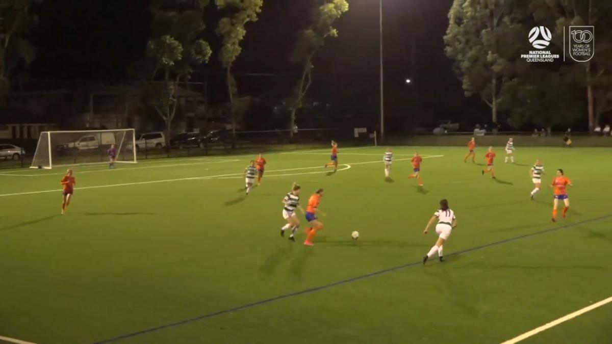 NPLW Queensland Round 15 - Souths United v Lions FC Highlights